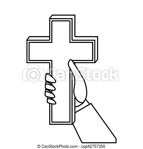 christian cross isolated icon vector illustration design clipart rh canstockphoto ca cross vector artwork plasma cutter iron cross vector art