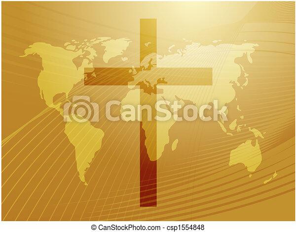 Christian cross - csp1554848