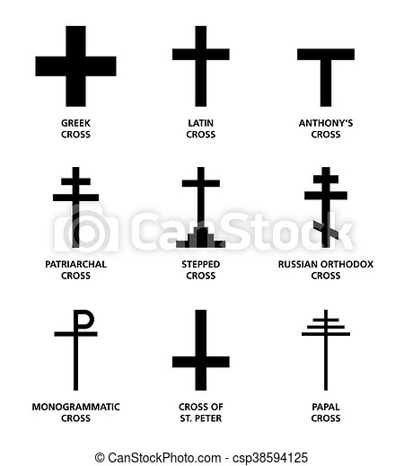 Christian Cross Variants The Nine Most Important Main Religious
