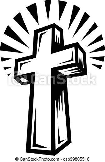 Christian Cross - csp39805516