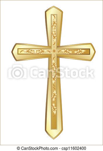 Christian Cross - csp11602400