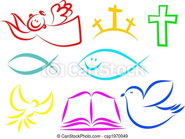 Christian icons - csp1970049