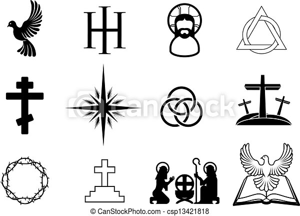 Christian icons - csp13421818