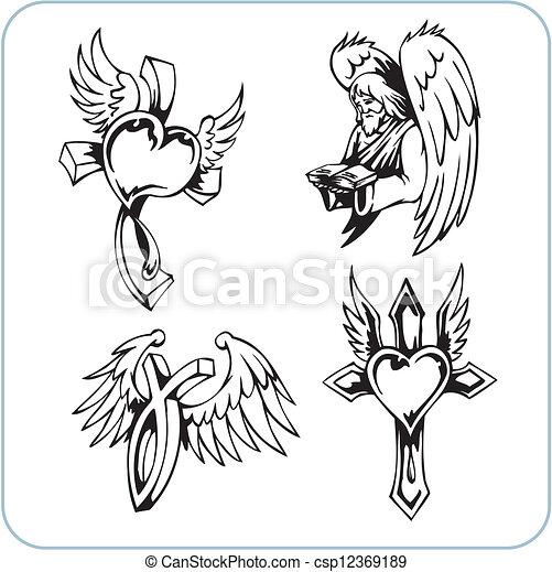 Christian Religion - vector illustration. - csp12369189
