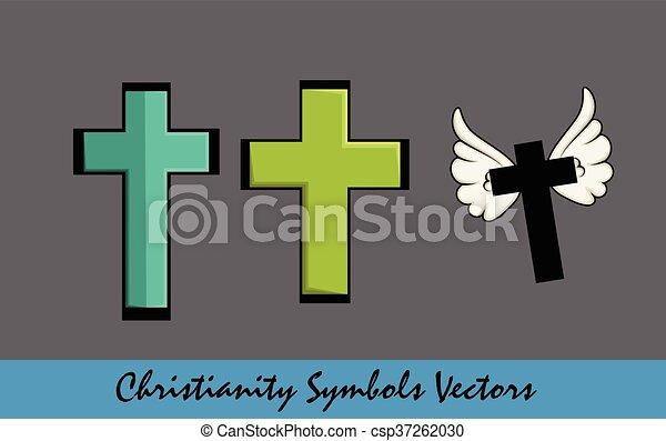 Christianity - Holy Cross Symbols - csp37262030