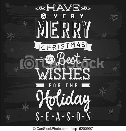 Christmas and holiday season greetings chalkboard eps 10 eps christmas and holiday season greetings chalkboard csp16200997 m4hsunfo
