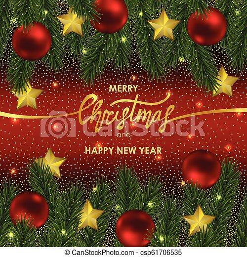 Happy New Year Invitation Card 61