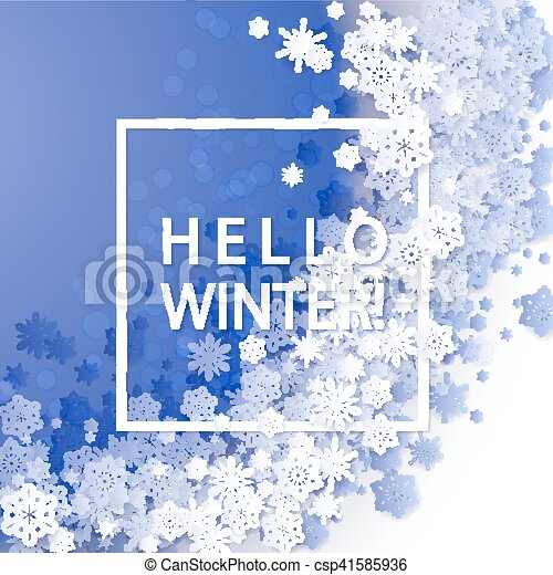 Christmas and New Years blue purple background - csp41585936
