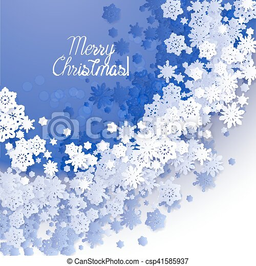 Christmas and New Years blue purple background - csp41585937