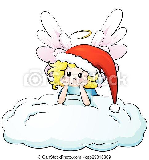 christmas angel - csp23018369