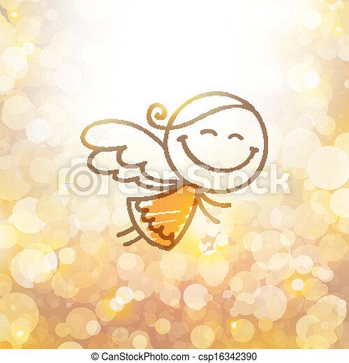 christmas angel - csp16342390