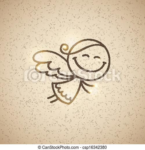 christmas angel - csp16342380