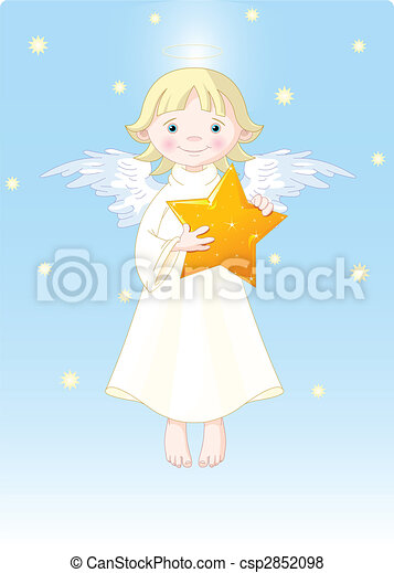 Christmas Angel - csp2852098