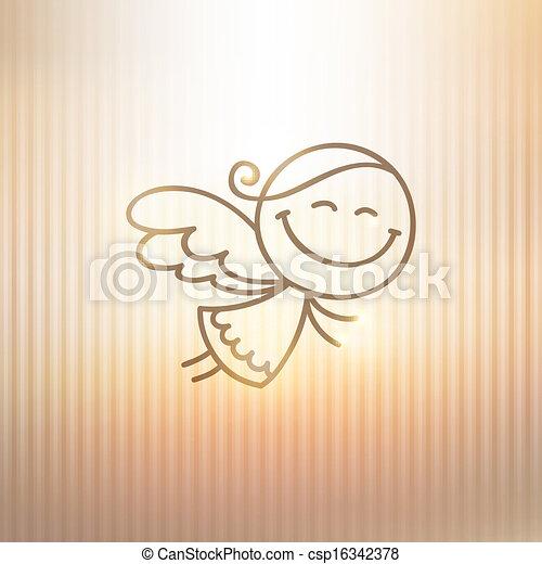 christmas angel - csp16342378