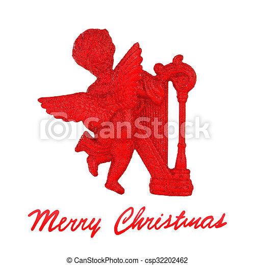 Christmas angel - csp32202462