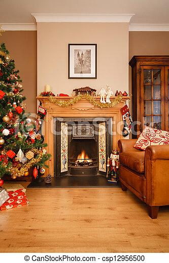 Christmas at home - csp12956500