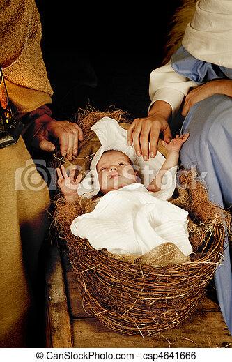 Christmas baby - csp4641666