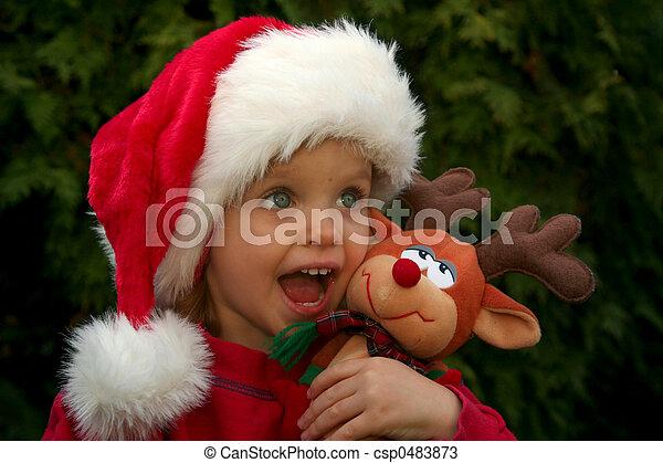 Christmas baby - csp0483873