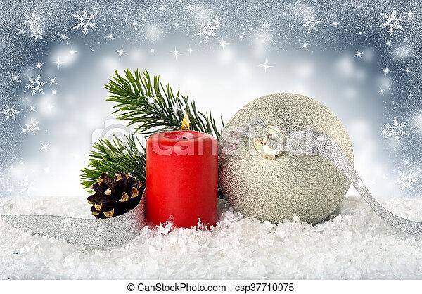 Christmas backgroun - csp37710075