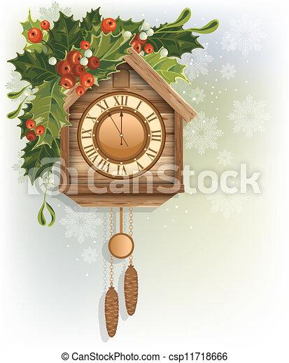 Christmas background - csp11718666