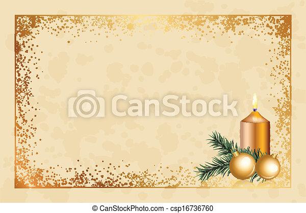 christmas background - csp16736760
