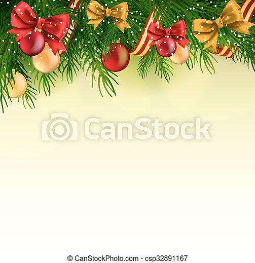 Christmas background - csp32891167