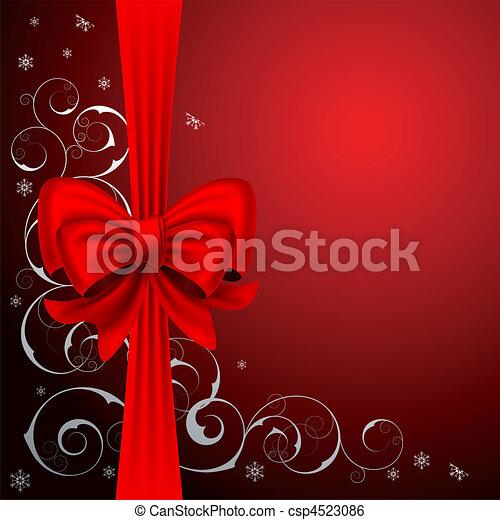 Christmas background - csp4523086