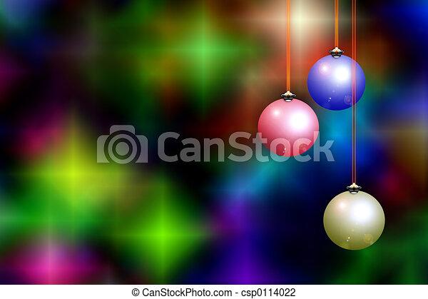 Christmas background - csp0114022