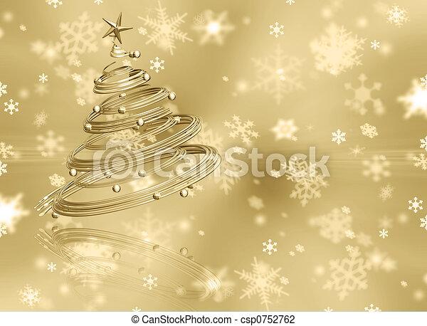 Christmas background - csp0752762