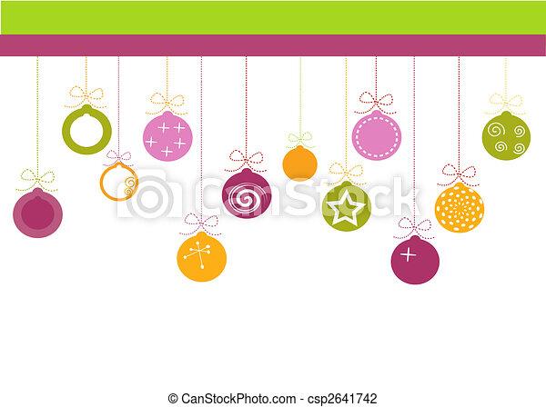 christmas background - csp2641742