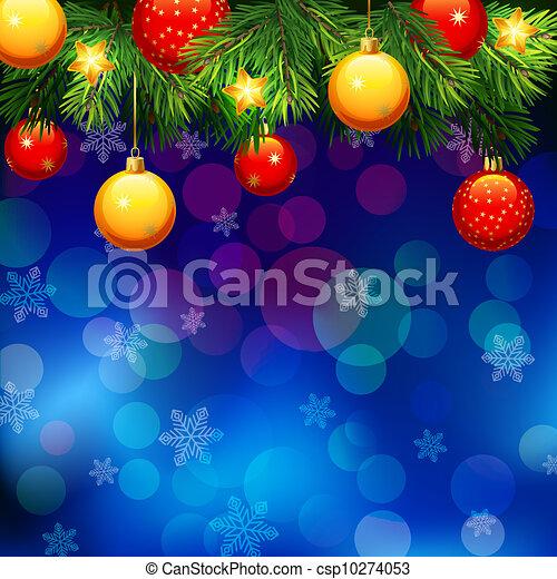 Christmas background - csp10274053