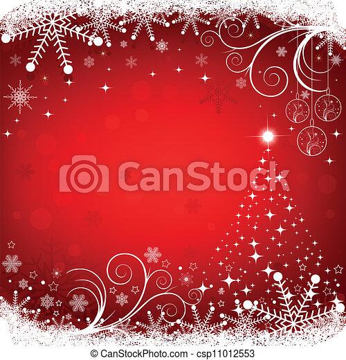 Christmas background - csp11012553