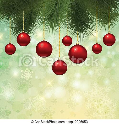 Christmas background - csp12006953