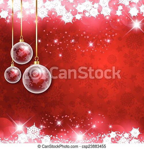 Christmas background - csp23883455