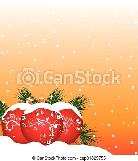 Christmas background - csp31825755