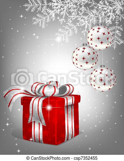 Christmas background - csp7352455
