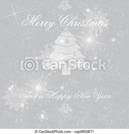 Christmas background - csp4850871