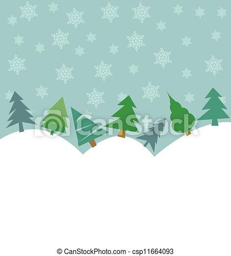 Christmas background  - csp11664093