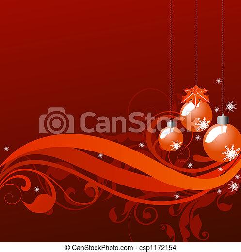 christmas background - csp1172154