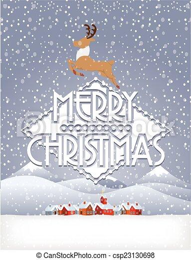Christmas background - csp23130698