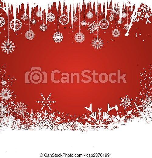 Christmas background - csp23761991