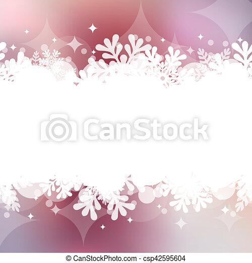 Christmas background - csp42595604