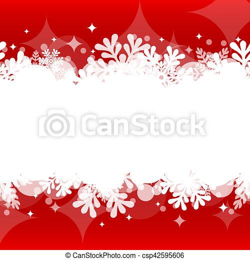 Christmas background - csp42595606