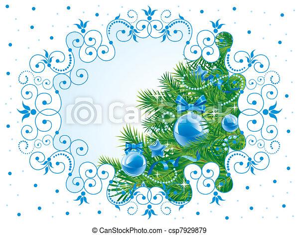 Christmas background - csp7929879