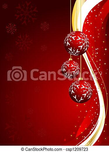 Christmas background - csp1209723
