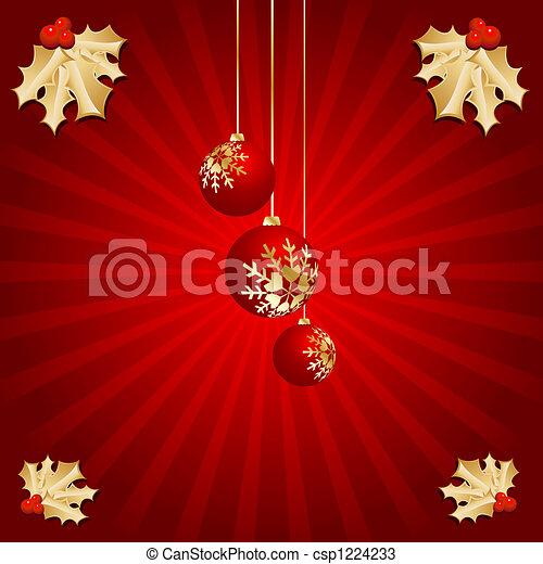 Christmas background - csp1224233