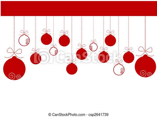 christmas background - csp2641739