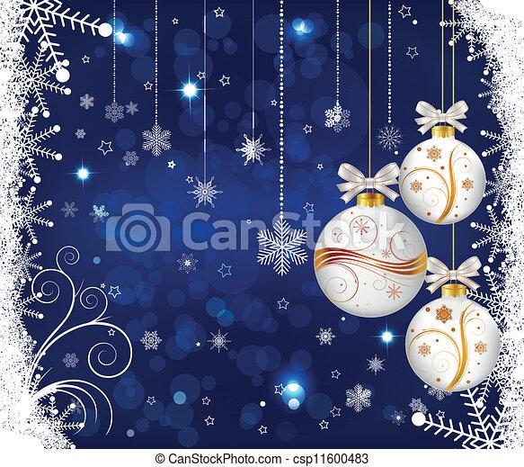 Christmas background - csp11600483