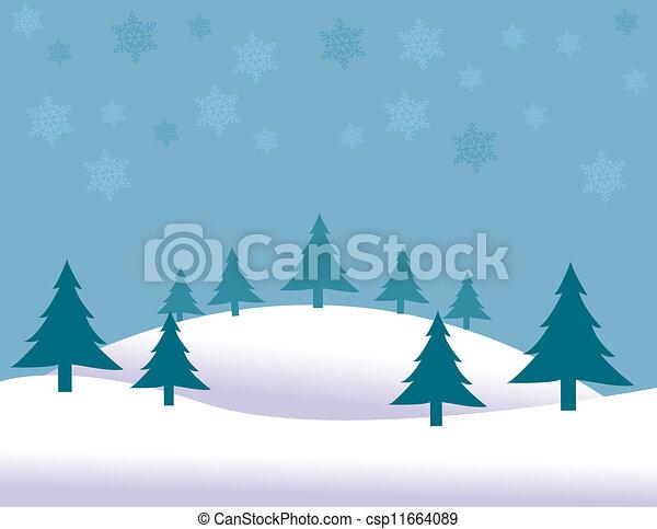 Christmas background  - csp11664089