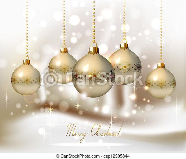 Christmas background  - csp12305844
